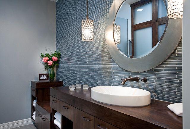 Элегантная цветовая схема для ванной