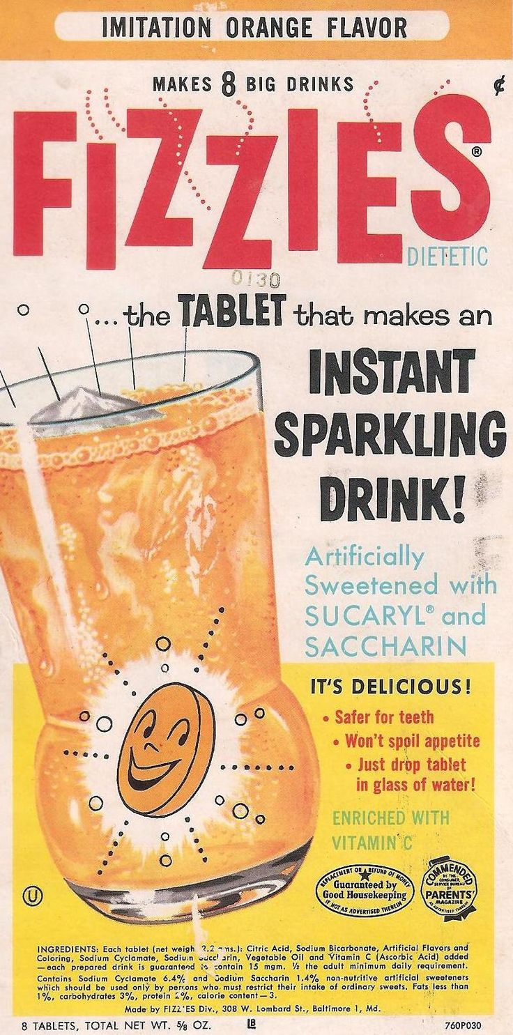 Remember putting these into your mouth andletting them fizz? What were we thinking?