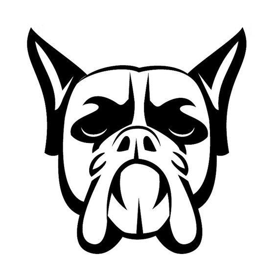 Dog Tribal Tattoo Designs