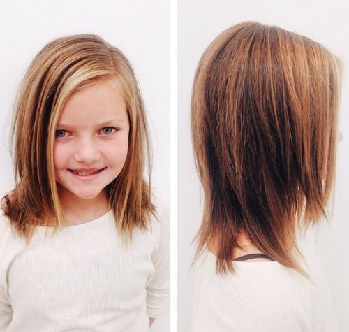 medium layered haircut for girls                                                                                                                                                      More