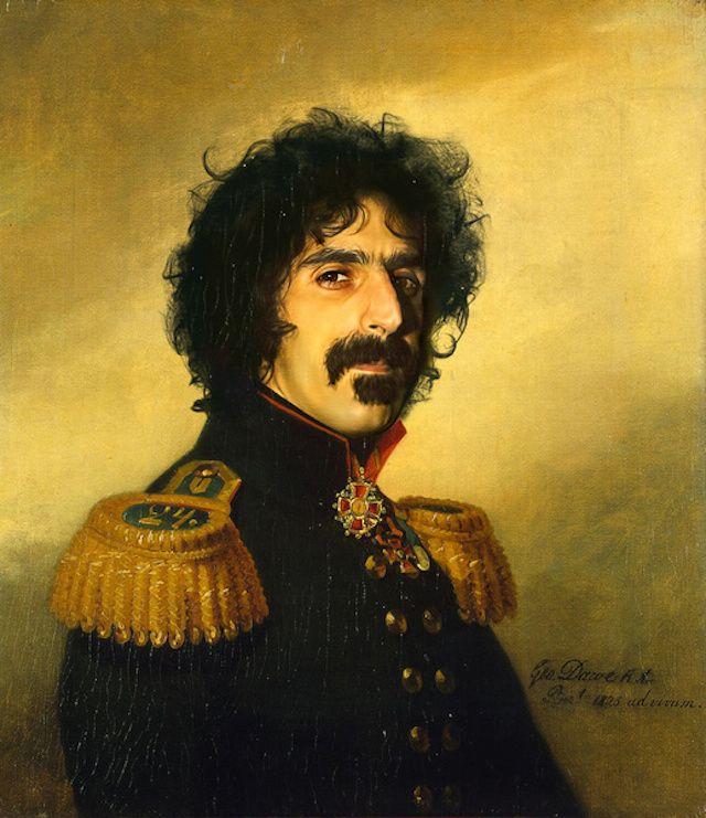 25 Franck Zappa