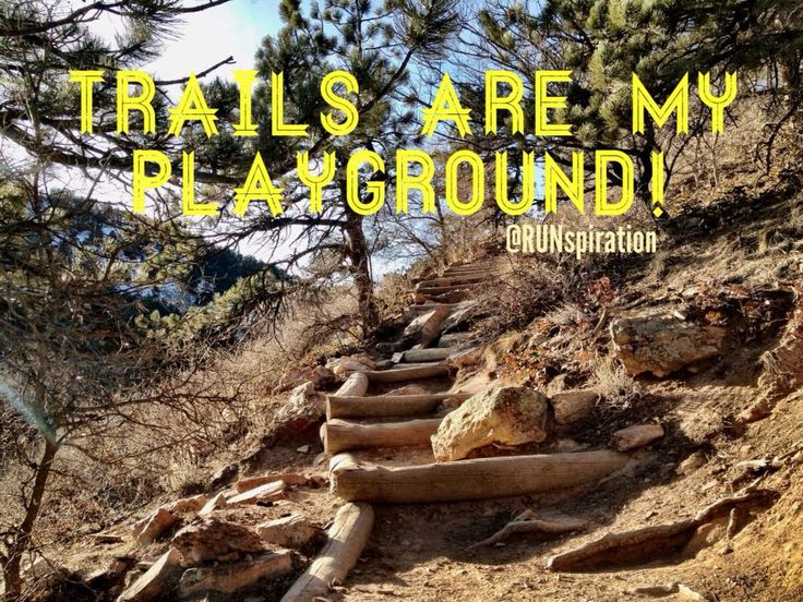 Trail Running - Yes!