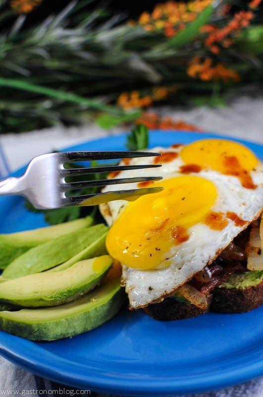 toast egg toast avocado toast mushrooms bacon forward avocado bacon ...