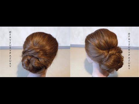 Fryzury Pazury - Dwie podobne szybkie eleganckie fryzury do pracy i nie tylko - YouTube
