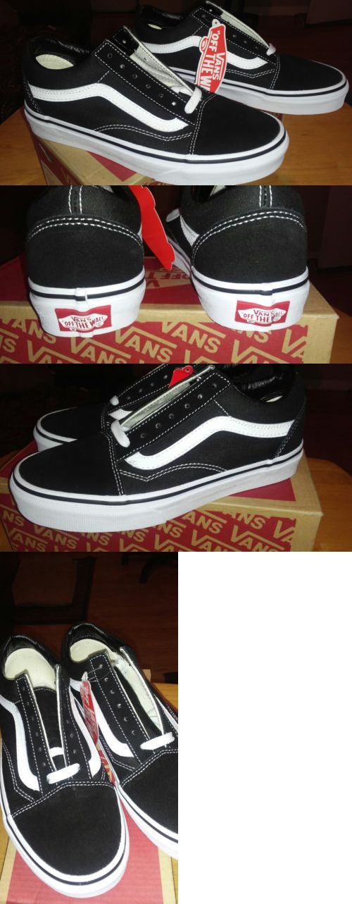 Men 159070: Vans Old School Black White School Sale Save $$ Now No Reserve Buy Now -> BUY IT NOW ONLY: $38 on eBay!