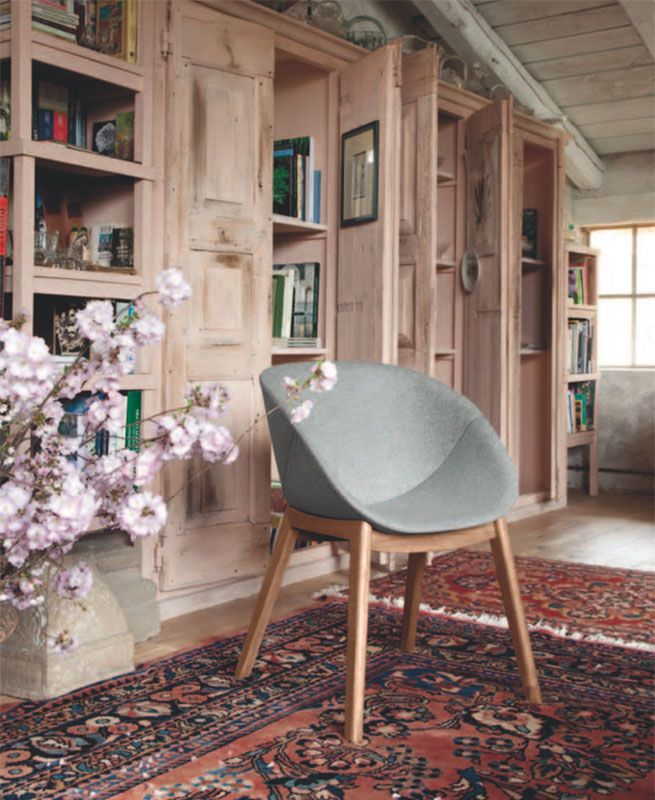 Coquille-l, sedie by DOMITALIA news collection