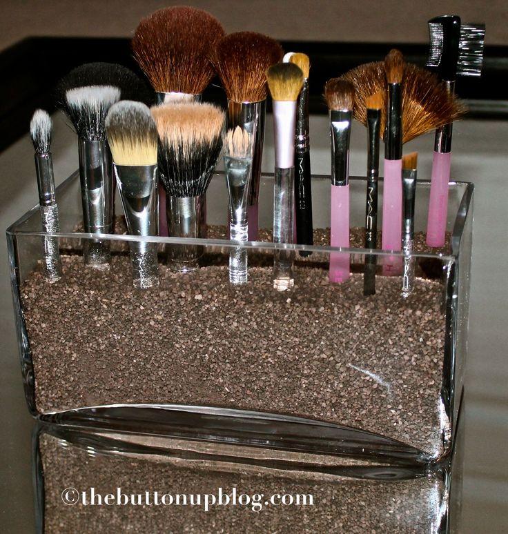 1000+ images about Makeup Brush Holder on Pinterest | Diy ...