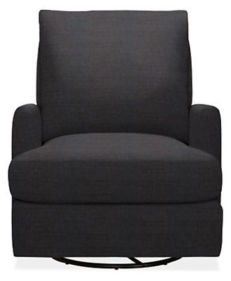 Colton Custom Swivel Glider Chair - Modern Accent & Lounge Custom Chairs - Modern Custom Furniture - Room & Board