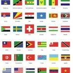 bandeiras dos paises lista