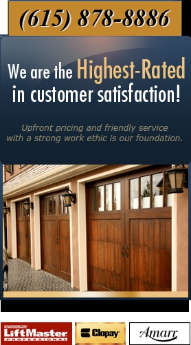 Elite Garage Doors could be the specialist inside garage door fix and also installation inside the Nashville location the particular brand name an individual rely on. Acquire certain top quality program installers to put in the storage area gates.