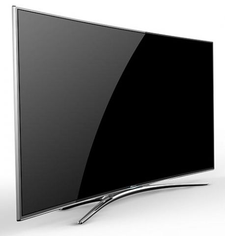 hisense xt810 tv edge led ultra hd incurv double tuner miracast monitor tv. Black Bedroom Furniture Sets. Home Design Ideas