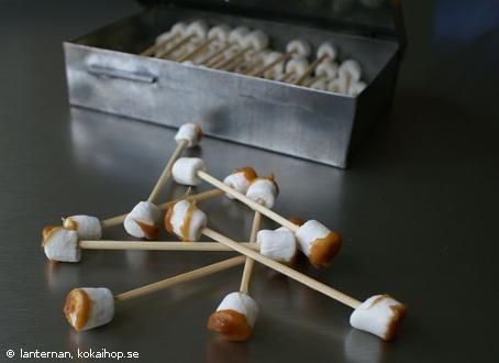 Recept - Öronvax (Halloween)