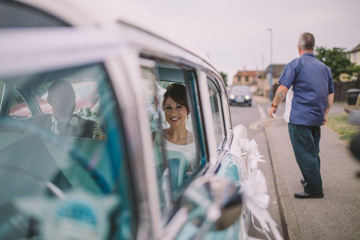 Wedding car bride wedding photography