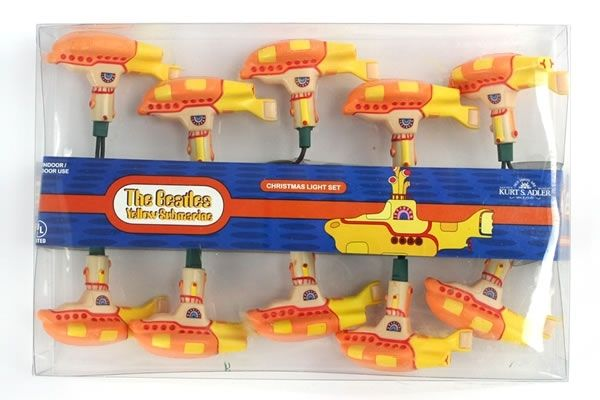 Yellow Submarine - The Beatles Christmas Light Set