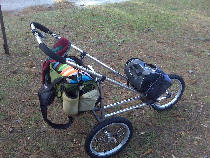 Disc Golf Cart Made From Stroller For The Love Of Disc