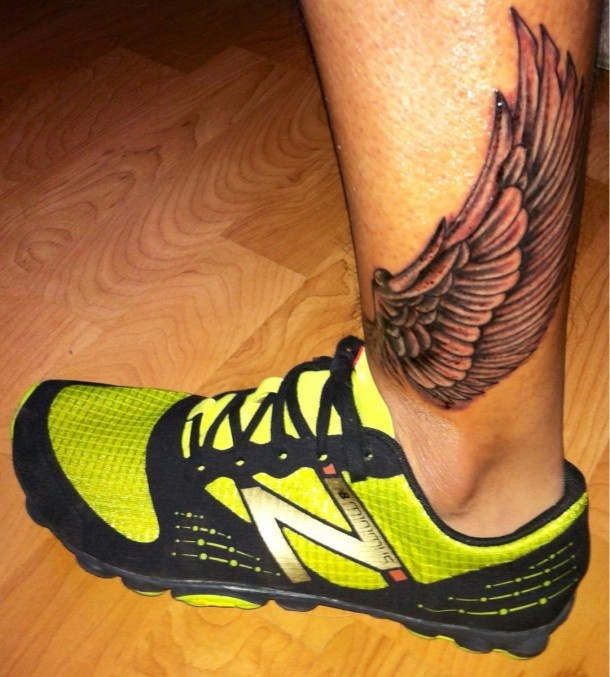 Hermes Tattoo tattoos for runners, im thinking about getting this, but only on one side