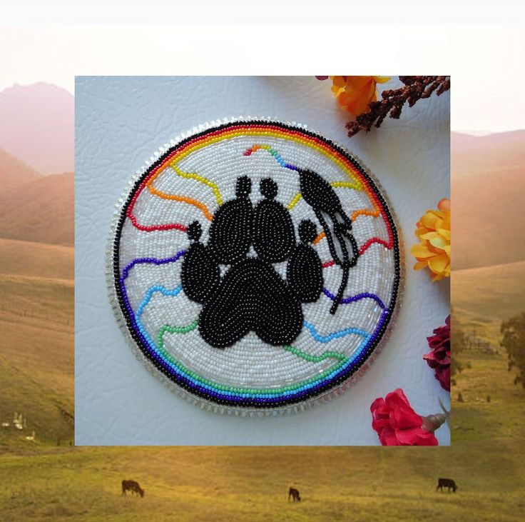 156 Best Beadwork Images On Pinterest Native American Beadwork