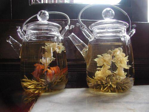 #tea #teapot #blooming