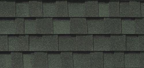 Mystique Vintage Forest Green-asphalt roofing shingles reviews