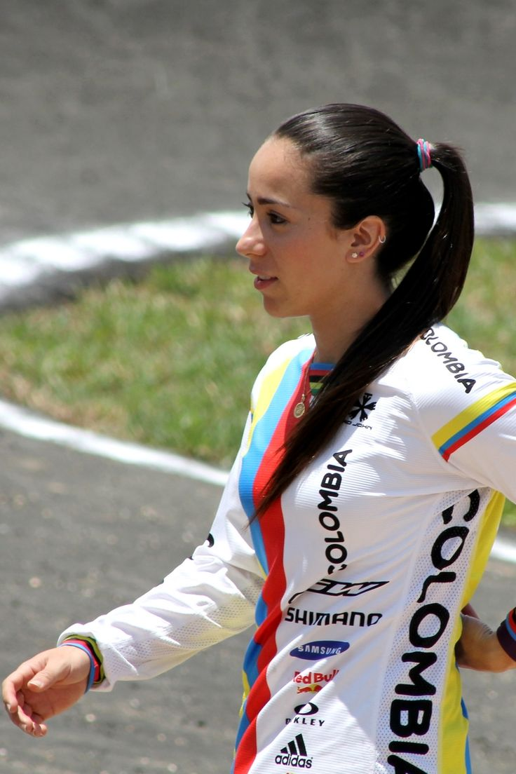 Personajes - Mariana Pajón - Campeona Mundial BMX
