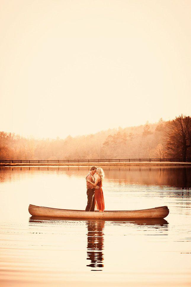 20 Creative + Gorgeous Summer Engagement Photo Ideas via Brit + Co.