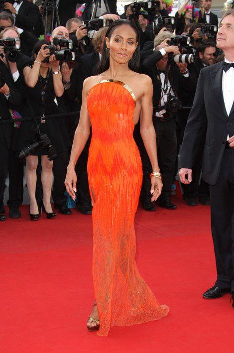 Jada Pinkett Smith Smolders At Cannes 'Madagascar 3' Premiere