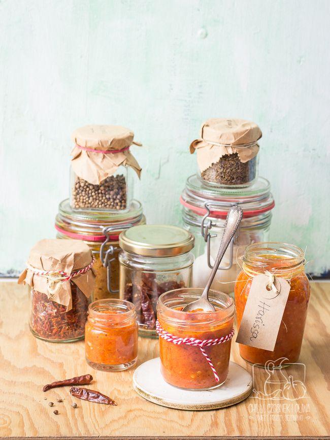 Jak zrobić domową pastę harissa? / Homemade harissa / Chilli, Czosnek i Oliwa