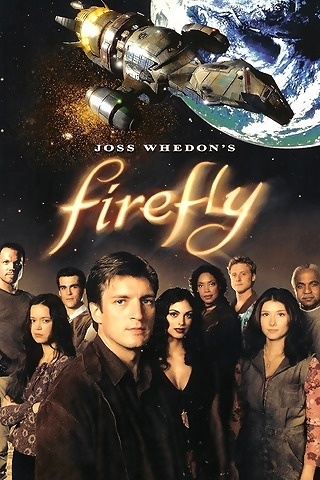 Firefly, Fox - Here was a great show, with fully realized characters and action-packed stories, that didn't go beyond a season because Fox kept screwing around with its schedule. Primo show.