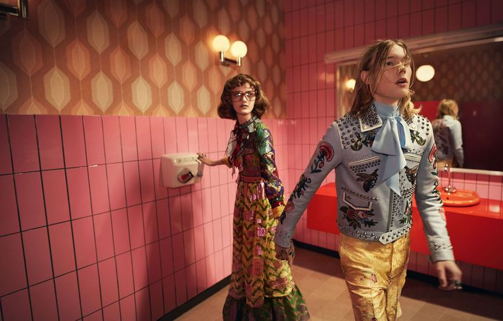 Gucci Spring/Summer 2016 Campaign by Glen Luchford