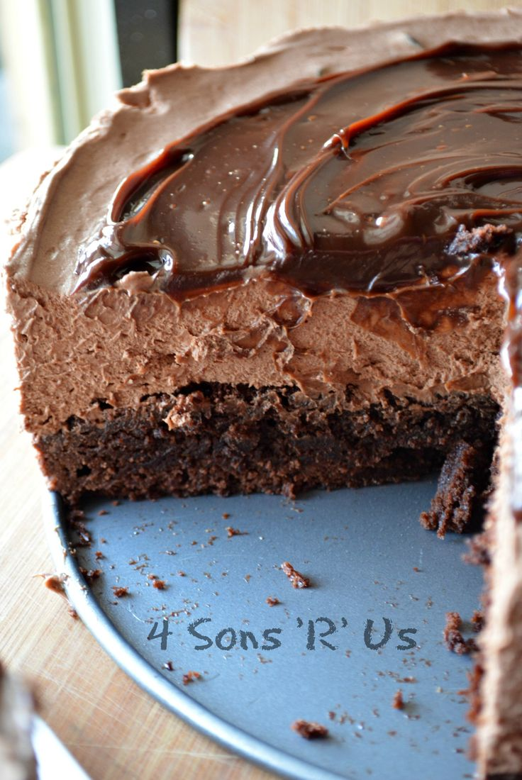 No Bake, Hot Fudge Chocolate Cheesecake 2