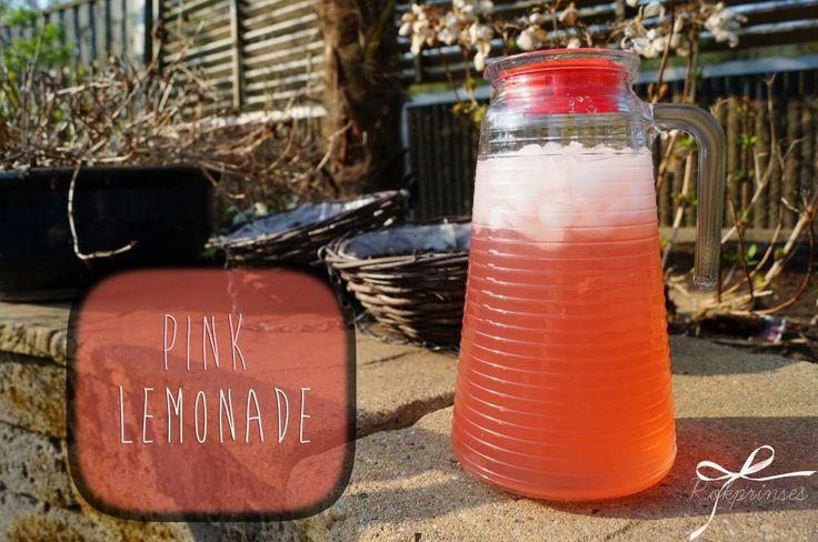 Verfris jezelf met de zelfgemaakte pink lemonade