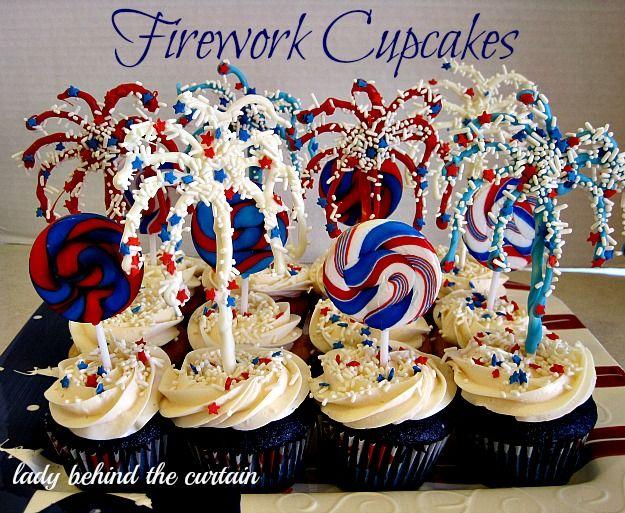 Fireworks cakes recipes