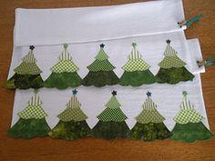 Pinheirinhos (Patchrosa) Tags: christmas natal patchwork pinheiro pinheirinho panodeprato pinheirinhodenatal patchrosa