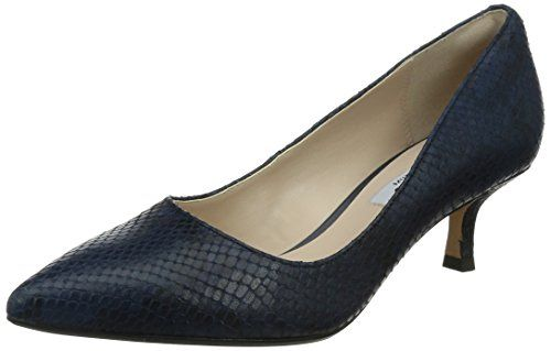 Clarks Aquifer Soda, Damen Pumps, Blau (Navy Snake), 39 EU (5.5 Damen UK) - http://on-line-kaufen.de/clarks/39-eu-clarks-aquifer-soda-damen-pumps-2