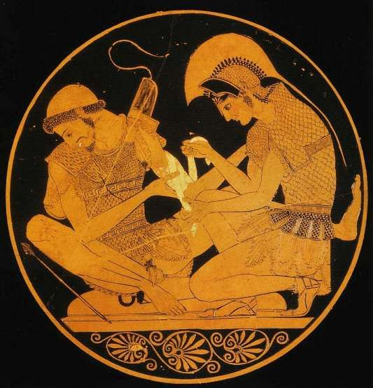 Image result for Ancient Greek friends