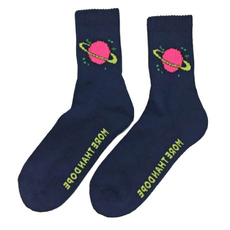 itGirl Shop SATURN PLANET SOCKS Aesthetic Apparel, Tumblr Clothes, Soft Grunge, Pastel goth, Harajuku fashion. Korean and Japan Style looks