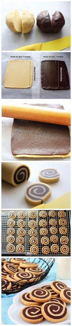 Chocolate Pinwheel Cookies-Ingredients