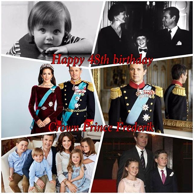 Happy 48th Birthday To Crown Prince Frederik