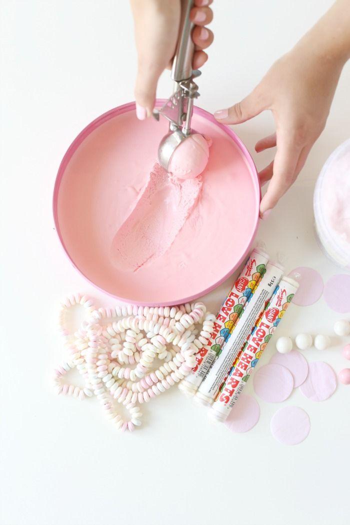 Cotton Candy Ice Cream!