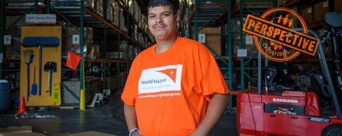 José's story: A storehouse volunteer   World Vision Blog