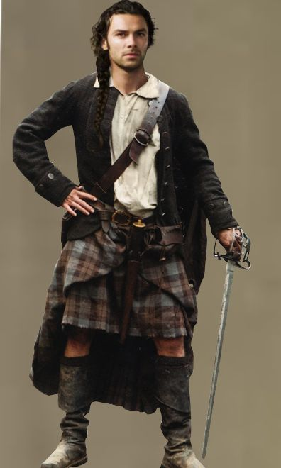 Poldark's Aidan Turner 'Ross Poldark' wearing a kilt in 2015 | Ourse Solitaire's Writing Blog