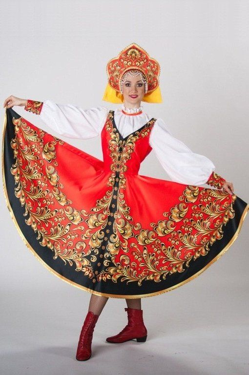 Russian costume, Russian dance
