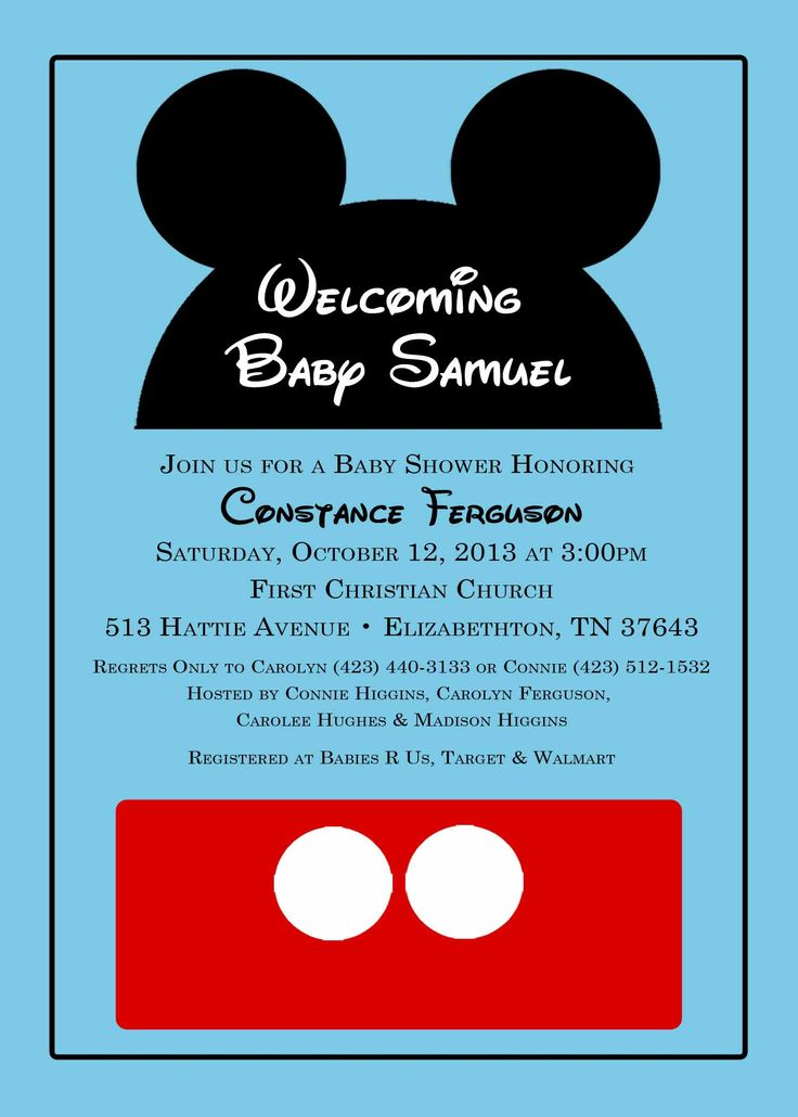 Create mickey mouse invitations online vatozozdevelopment create mickey mouse invitations online filmwisefo