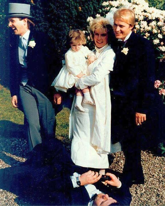 anarchicyellowdungarees:  Ade and Jen's wedding