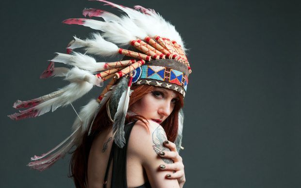 Girl Native American Backgrounds For Desktop.