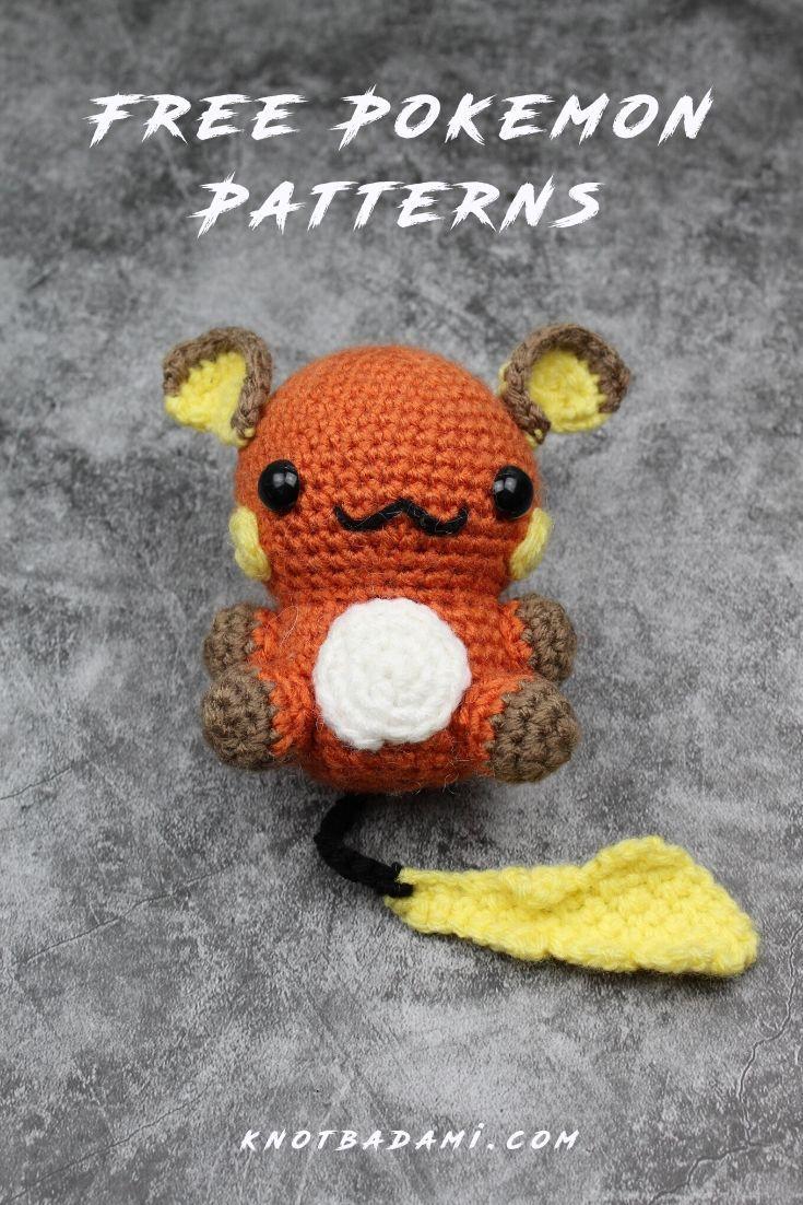 Awesome Crochet Pokemon Roundup! | Pokemon crochet pattern ... | 1102x735