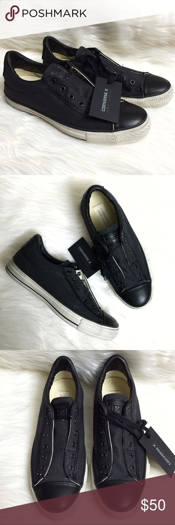 John varvatos leather driving gloves - Converse John Varvatos Chuck Taylor Black Sneakers Brand New With Dust Bag And Box Missing