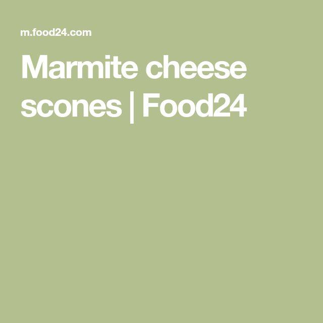 Marmite cheese scones   Food24