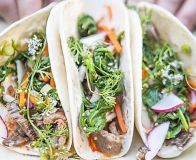 How to make Sorted's Korean BBQ beef tacos