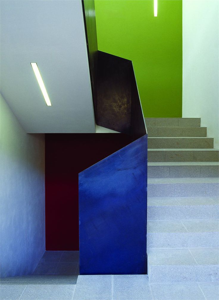colorful stairs.